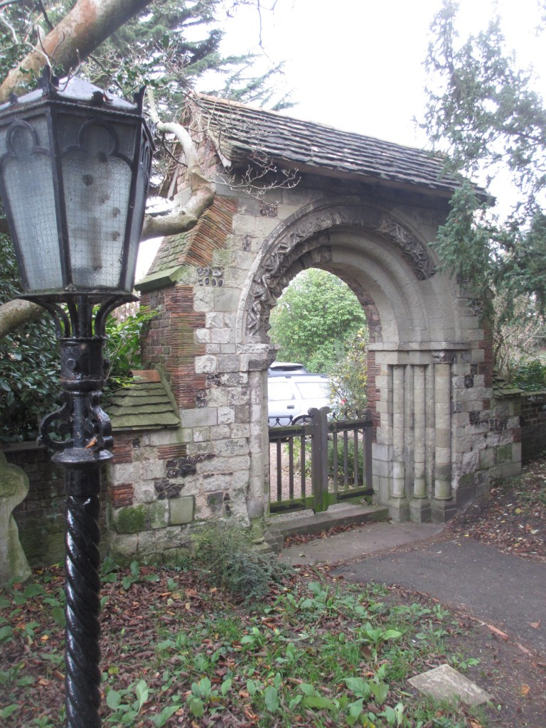 Merton Priory Arch