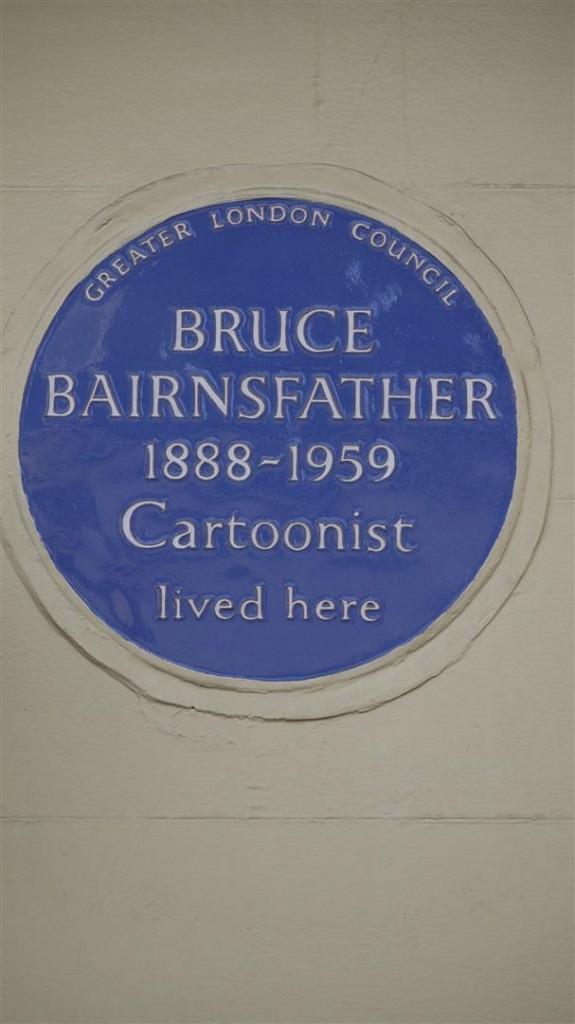Bruce Bairnsfather Plaque