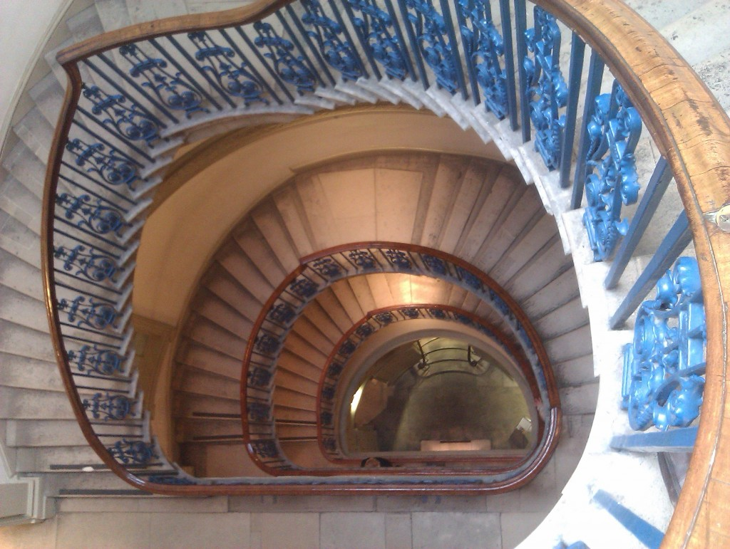 Staircase Courtauld Gallery