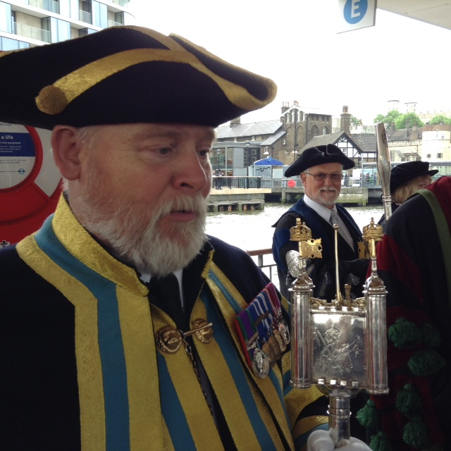 Beadle of the Tower Ward with mace