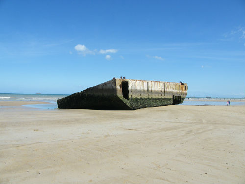 Mulberry Harbour at Arromanches