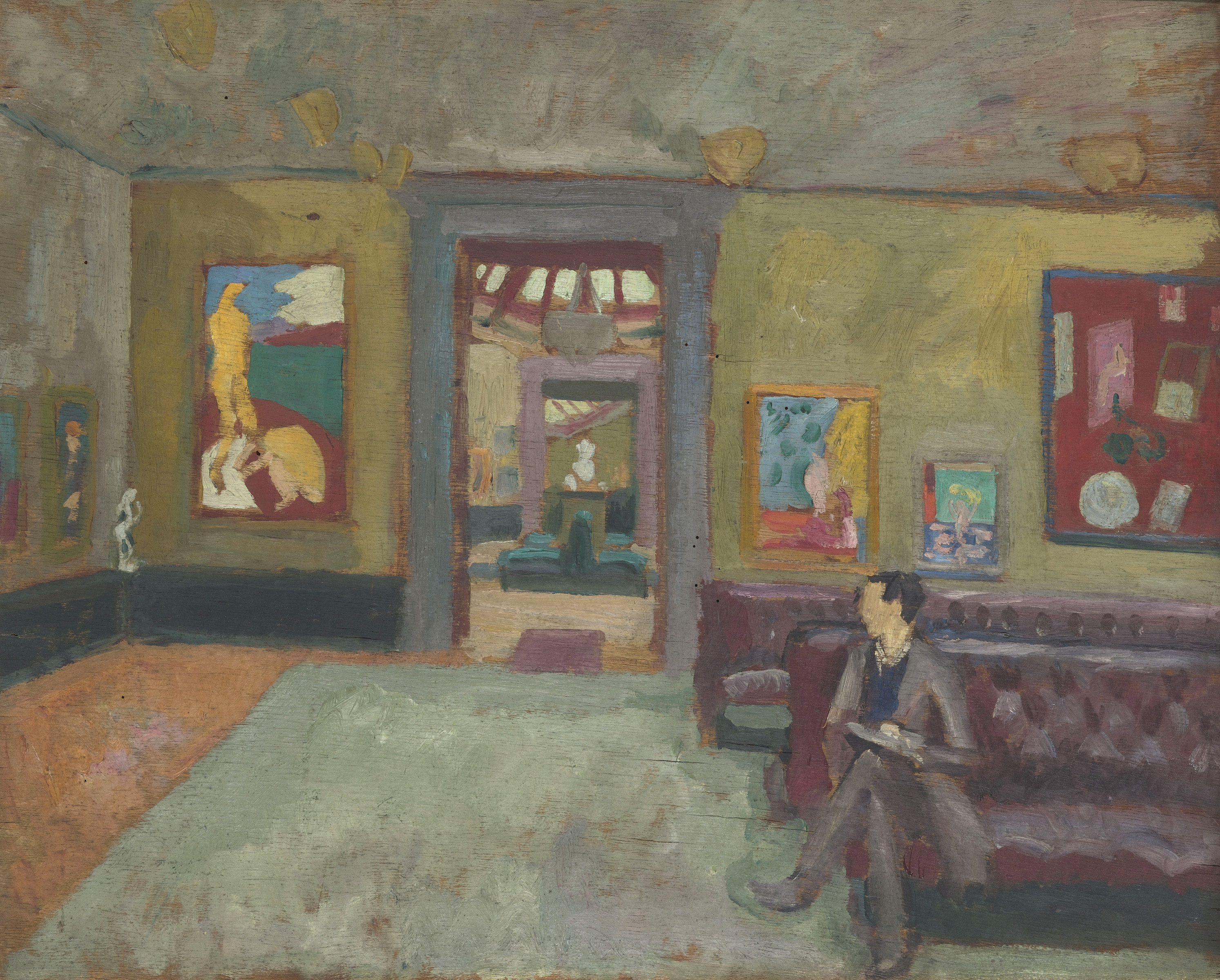 D Painting Exhibition : Review of virginia woolf art life and vision at the