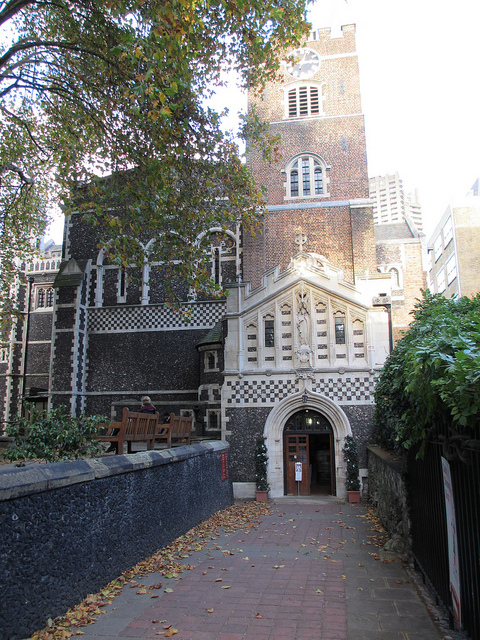 St Bartholemew the Great, founded by Rahere during the reign of Henry I