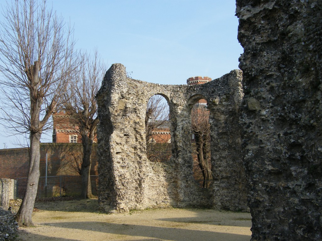Reading Abbey, burial place of Henry I