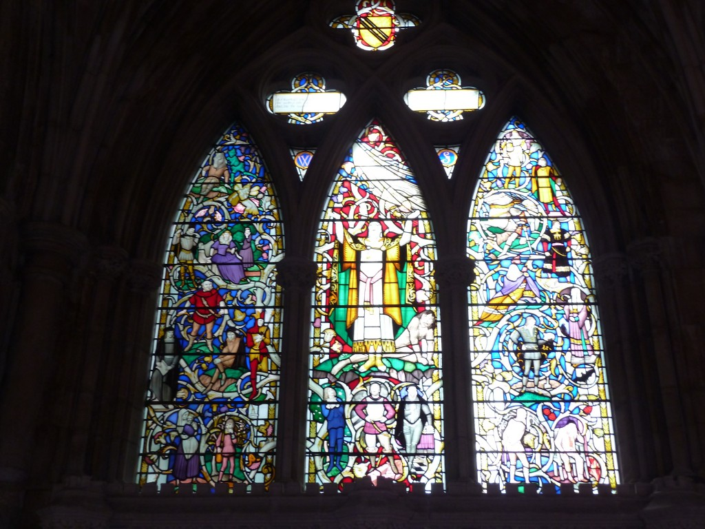Shakespeare Memorial window Southwark Cathedral