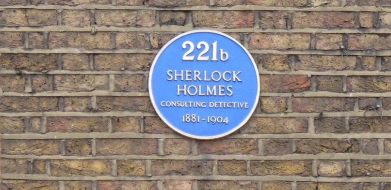 Literary London – The enigmatic 221b