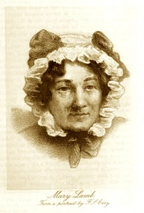 Picture of Mary Lamb, from British Library Flickr feed