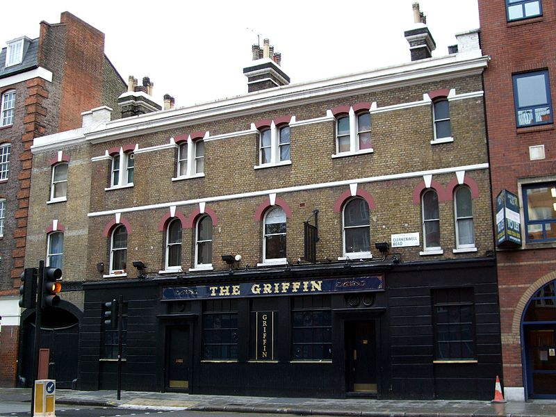 The Griffin pub - the Sabini Gang's headquarters - The Real London of Peaky Blinders Walking Tour