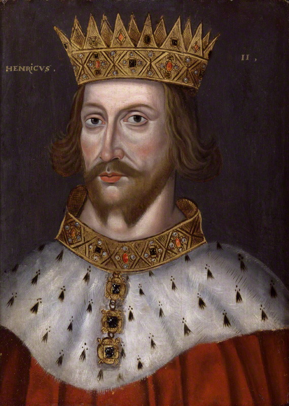 An image of the King of London - King Henry the 2nd.