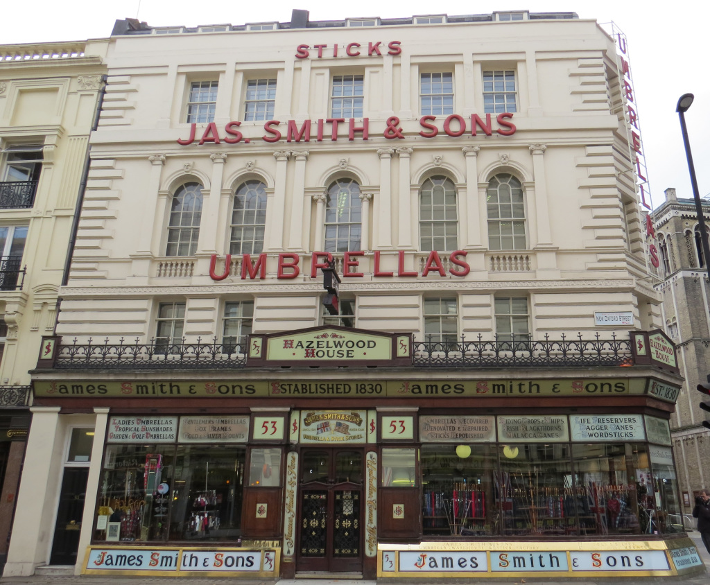James Smith Umbrella Shop
