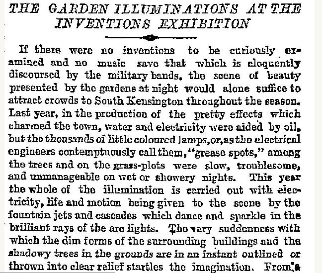 Times May 26th 1885