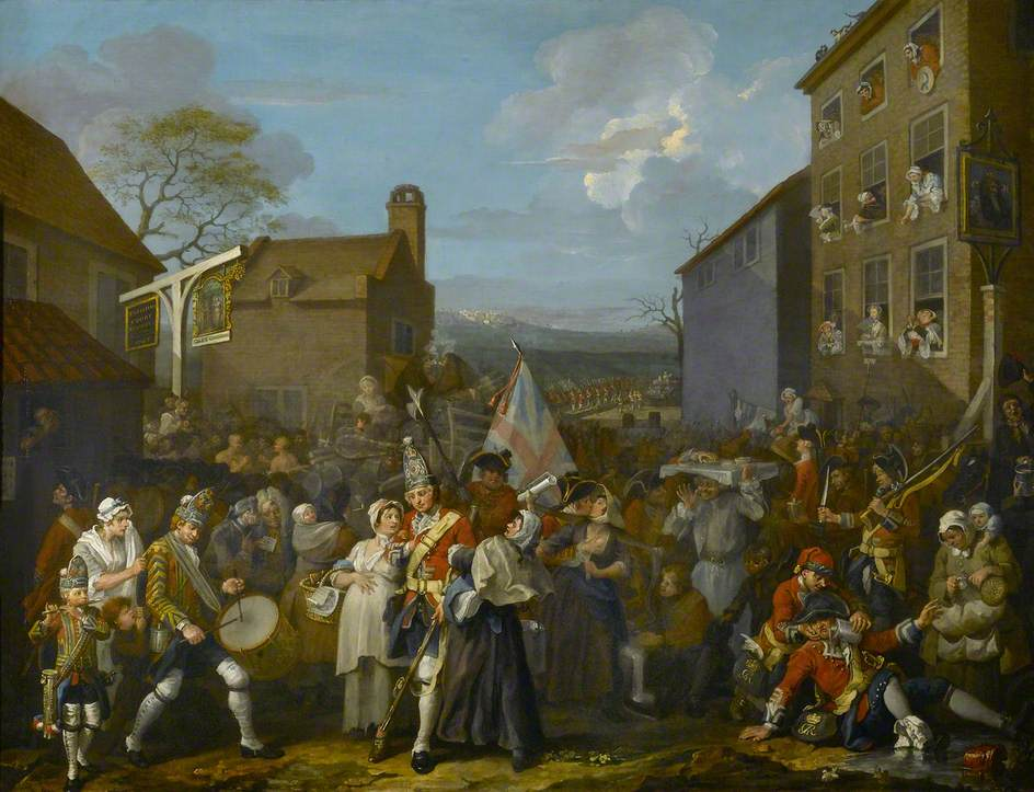 William Hogarth March of the Guards to Finchley 1750 (c) The Foundling Museum; Supplied by The Public Catalogue Foundation