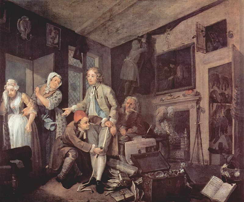 William Hogarth - A Rake's Progress