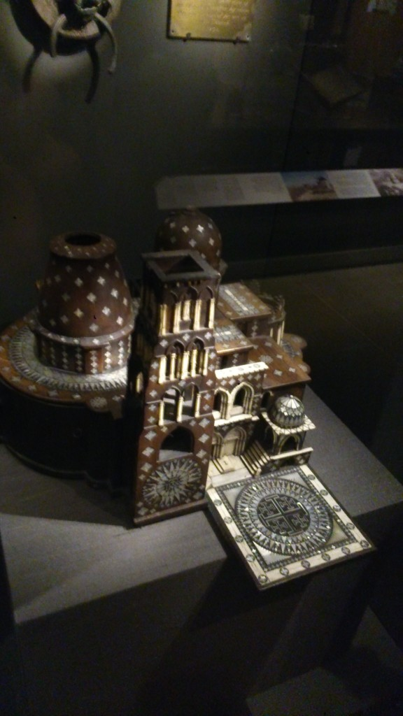 models of the Church of the Holy Sepulchre
