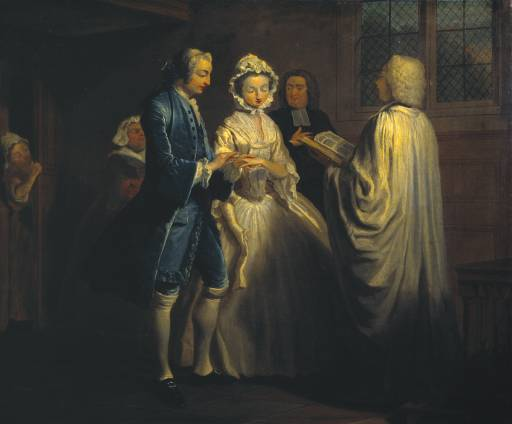 IX: Pamela is Married 1743-4 Joseph Highmore 1692-1780 Purchased 1921 http://www.tate.org.uk/art/work/N03575