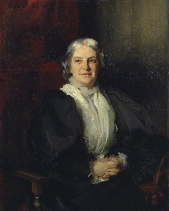 Octavia Hill by John Singer Sargent, oil on canvas, 1898
