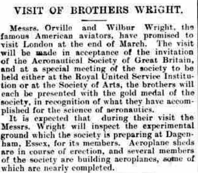 wright brothers visit