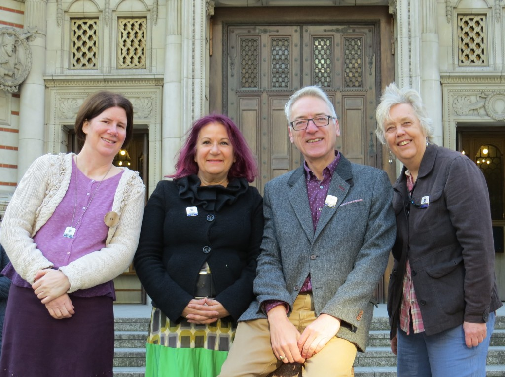 Joanna, Rhona, Stephen and Jen announce their new series of Westminster lunchtime walks