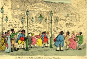 gas light in pall mall