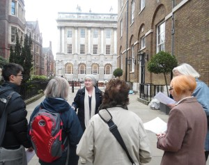 Shardlake's London walk with Jill Finch