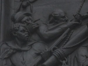 Death of Nelson bas relief3