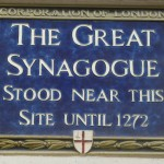 Great Synagogue plaque