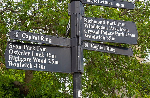 Capital Ring Section 7: Richmond to Osterley Lock